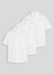 White School Shirts 3 Pack (3-16 years)