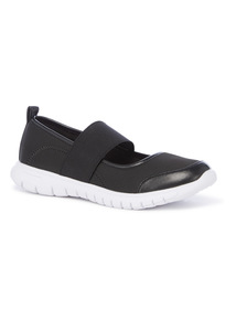 Flexi Elasticated Slip On Shoes