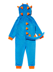 Blue Monster Fleece All In One (3-12 years)