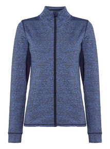 Indigo Active Space Dye Running Jacket