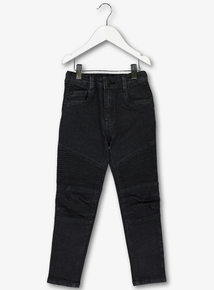 Black Skinny Stretch Jeans (3-14 years)