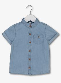 Blue Denim Chambray Shirt (9 Months - 6 Years)