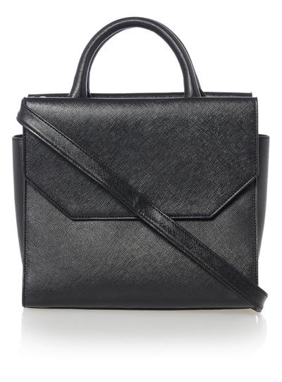 Black Handheld Bag