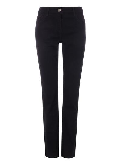 Black Straight Leg Jeans