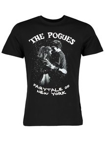 The Pogues Christmas Black T-Shirt
