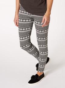 Multicoloured Stripe Leggings