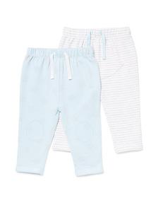 2 Pack  Blue Joggers (Newborn -12 months)