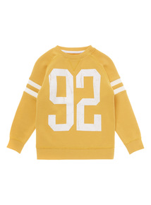 Yellow Crew Neck Sweat (3 - 12 years)