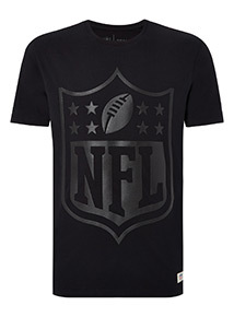 NFL Embossed Shield Print T-Shirt