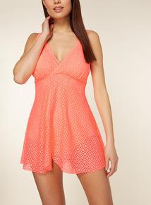 Lace Swimsuit Dress