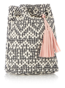Multicoloured Drawstring Bag