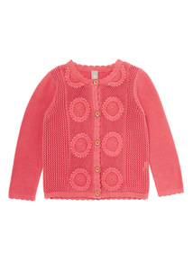 Pink Embroidered Cardigan (9 months - 5 years)