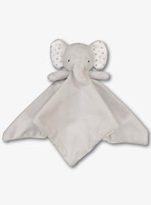 Grey Elephant Comforter (One Size)