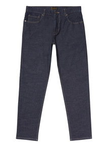 Rinse Denim Wash Tapered Jeans