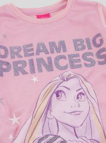 Disney Rapunzel Long Sleeve Nightie (2 - 10 Years)