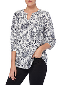 Multicoloured Havana Linen Shirt