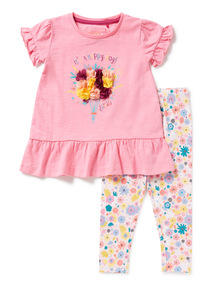 Girls 'Happy Day' T-shirt (9 months-6 years)