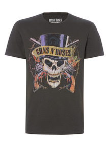 Black Guns And Roses T-shirt