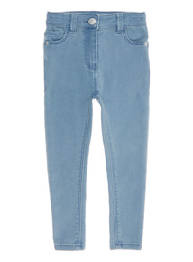 Denim Skinny High Waisted Jeans (3 - 14 years)