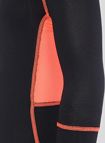 Black Active Sports Top (3-15 years)
