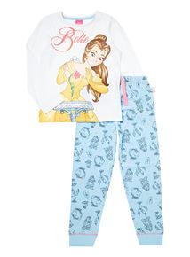 Multicoloured Disney Belle Pyjama Set (18 months-10 years)
