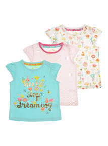 Pattern Tees 3 Pack (0 - 24 months)