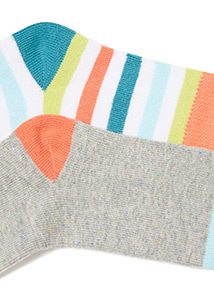 4 Pack Multicoloured Bug Socks (0-24 months)