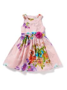 Multicoloured Floral Dress (9 months-6 years)