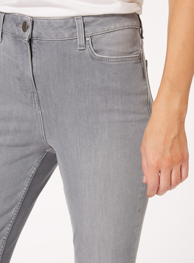 Grey Performance Skinny Jeans