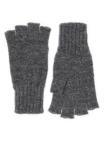 Charcoal Fingerless Glove