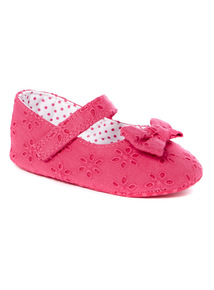 Pink Pretty Dolly Shoes (0-18 months)