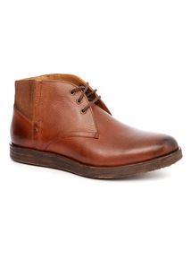 Sole Comfort Brown leather boot