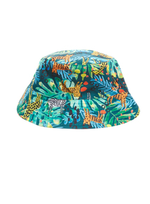 Boys Multicoloured Jungle Bucket Hat (1-6 years)