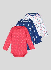 Mother Goose Sleepsuits 3 Pack (0 - 24 Months)