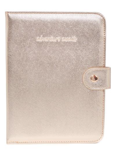 Luxe Metallic Travel Wallet
