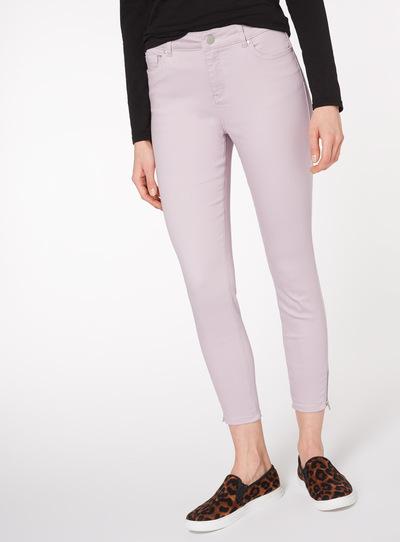 Lilac Stretch Skinny Jeans
