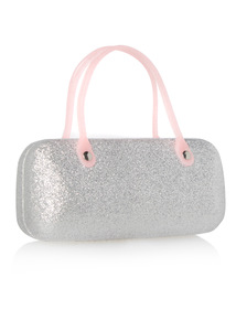 Multicoloured Glitter Sunglasses Case