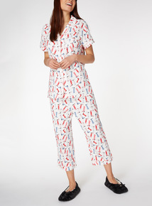 Cowboy Boot Print Traditional Pyjamas