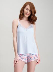 ad70c0fa81d1 Multicoloured Shell Print Pyjama Shorts Set