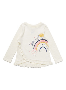 White Rainbow Top (9 months- 6 years)