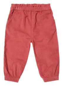 Pink Cord Trouser (0-24 months)