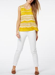 Yellow Ombre Vest
