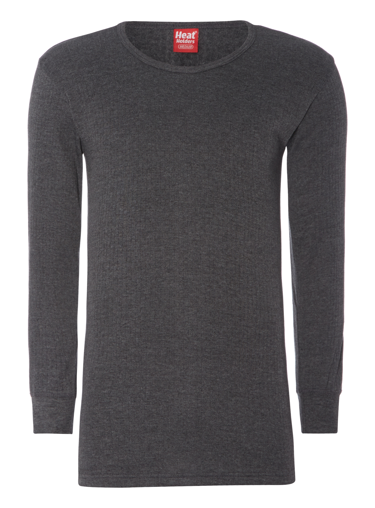 Mens Charcoal Heat Holders Thermal Top | Tu clothing