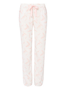 Feather Print Pyjama Bottoms