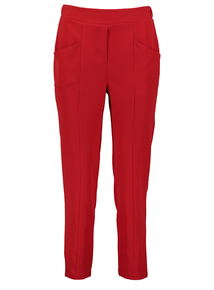Red Smart Trousers