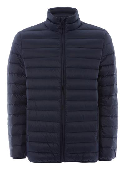 3b65089e849 Menswear Navy Down Filled Puffer Coat