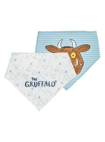 Gruffalo Hanky Bibs 2 Pack