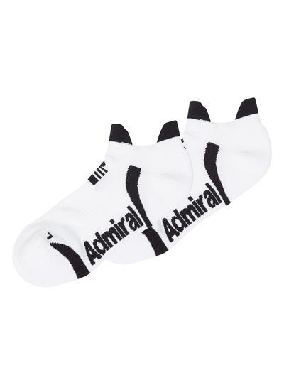 Admiral White Performance Socks 2 Pack