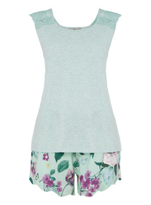 Floral Short Pyjama Set