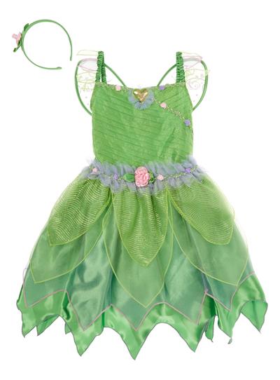 SKU SS15 DISNEY TINKERBELLGreen5-6 years  sc 1 st  Tu clothing & Kids Girls Green Disney Tinkerbell Outfit (3-12 years) | Tu clothing